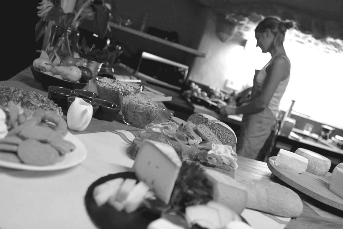 Petit-déjeuner Maison Bondaz